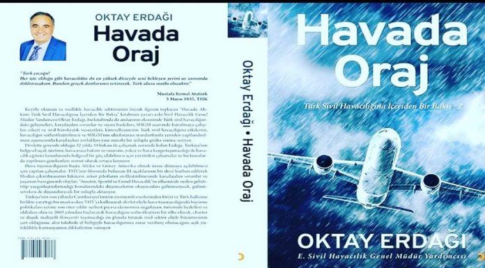 """Oktay Erdağı'nın ikinci kitabı """"Havada Oraj"""" yayınlandı"""